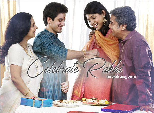 Celebrate Rakhi on 26th August, 2018